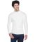 8510 UltraClub® Adult Egyptian Interlock Cotton L WHITE