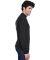 8510 UltraClub® Adult Egyptian Interlock Cotton L BLACK