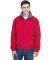 8921 Men's UltraClub® Adventure All-Weather Jacke RED/ CHARCOAL