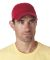UltraClub 8102 Twill Unconstructed Dad Hat RED