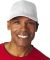 8121 UltraClub® Adult Classic Cut Cotton Twill Ca WHITE