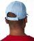 8121 UltraClub® Adult Classic Cut Cotton Twill Ca LIGHT BLUE