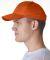 8121 UltraClub® Adult Classic Cut Cotton Twill Ca ORANGE