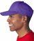 8121 UltraClub® Adult Classic Cut Cotton Twill Ca PURPLE