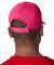 8121 UltraClub® Adult Classic Cut Cotton Twill Ca HOT PINK