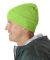 8130 UltraClub® Acrylic Knit Beanie with Cuff  LIME GREEN