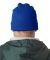 8130 UltraClub® Acrylic Knit Beanie with Cuff  ROYAL