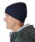 8130 UltraClub® Acrylic Knit Beanie with Cuff  NAVY