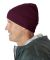 8130 UltraClub® Acrylic Knit Beanie with Cuff  BURGUNDY