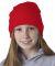 8131 UltraClub® Acrylic Knit Beanie BLAZE ORANGE