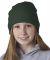 8131 UltraClub® Acrylic Knit Beanie FOREST GREEN