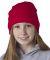 8131 UltraClub® Acrylic Knit Beanie RED