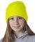 8131 UltraClub® Acrylic Knit Beanie SAFETY YELLOW