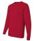 29LS Jerzees Adult Long-Sleeve Heavyweight 50/50 B True Red