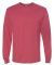 29LS Jerzees Adult Long-Sleeve Heavyweight 50/50 B Vintage Heather Red