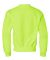 562B Jerzees Youth NuBlend® Crewneck 50/50 Sweats Safety Green