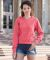 1595 Comfort Colors - Pigment-Dyed Ladies' Frayed Hooded Pullover  Catalog