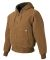 5020 DRI DUCK Hooded Boulder Jacket S - 6XL  Saddle
