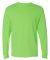 4930 Fruit of the Loom® Heavy Cotton HD Long Slee Neon Green