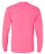 4930 Fruit of the Loom® Heavy Cotton HD Long Slee Neon Pink
