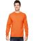 4930 Fruit of the Loom® Heavy Cotton HD Long Slee Safety Orange