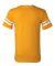 360 Augusta Sportswear Sleeve Stripe Jersey GOLD/ WHITE