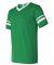 360 Augusta Sportswear Sleeve Stripe Jersey KELLY/ WHITE