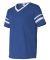360 Augusta Sportswear Sleeve Stripe Jersey ROYAL/ WHITE