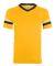 360 Augusta Sportswear Sleeve Stripe Jersey GOLD/ BLACK/ WHT