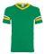 360 Augusta Sportswear Sleeve Stripe Jersey KELLY/ GOLD/ WHT
