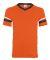 360 Augusta Sportswear Sleeve Stripe Jersey ORANGE/ BLK/ WHT