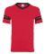 360 Augusta Sportswear Sleeve Stripe Jersey RED/ BLACK