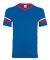 360 Augusta Sportswear Sleeve Stripe Jersey ROYAL/ RED/ WHT