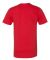2001 American Apparel Fine USA Made Jersey Tee RED