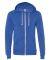 AA9590 Alternative Apparel Rocky Unisex Zip Up Hoo EC TR PACIF BLUE