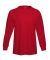 5286 Hanes® Heavyweight Long Sleeve T-shirt Athletic Red