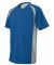 M1004 All Sport Reverse Colorblock T-shirt Royal/ Grey/ Navy