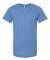 BELLA+CANVAS 3001 Soft Cotton T-shirt COLUMBIA BLUE