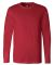 BELLA+CANVAS 3501 Long Sleeve T-Shirt RED