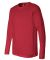 BELLA+CANVAS 3501 Long Sleeve T-Shirt RED