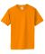 420 Anvil Organic Adult Tee MANDARIN ORANGE