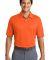 Nike Golf Dri FIT Pebble Texture Polo 373749 Brilliant Orng