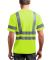 CornerStone ANSI Class 3 Short Sleeve Snag Resista Safety Yellow