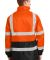 CornerStone ANSI Class 3 Waterproof Parka CSJ24 Safety Orange
