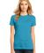District Made 153 Ladies Perfect Weight Crew Tee D Brt Turquoise