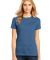 District Made 153 Ladies Perfect Weight Crew Tee D Maritime Blue