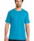 District Made Mens Perfect Weight Crew Tee DT104 Brt Turquoise