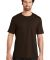 District Made Mens Perfect Weight Crew Tee DT104 Espresso