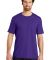 District Made Mens Perfect Weight Crew Tee DT104 Purple