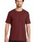 District Made Mens Perfect Weight Crew Tee DT104 Sangria